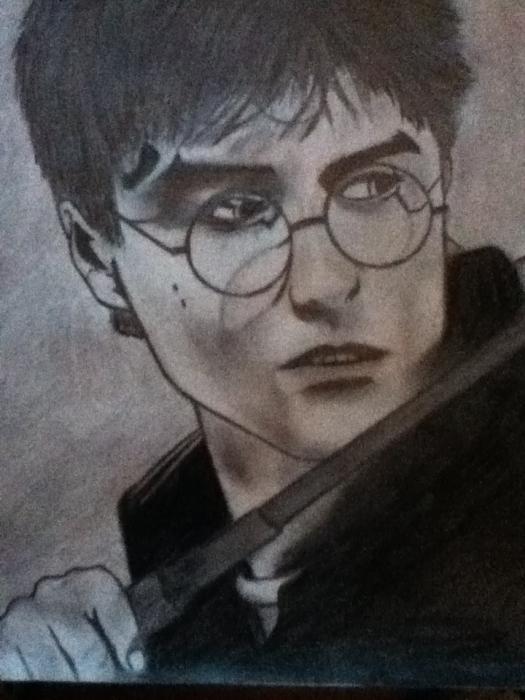 Daniel Radcliffe par TH-portraits